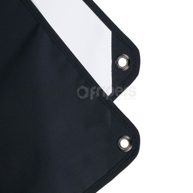 Panel reflector Aurora 2in1 80x120cm black/white
