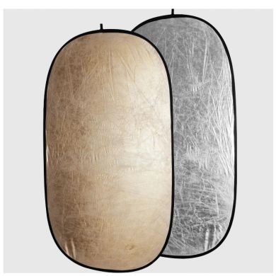 Board reflector FreePower 2in1 102x168cm silver/gold