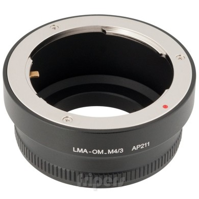 Lens adapter JJC Micro 4/3 to Olympus OM