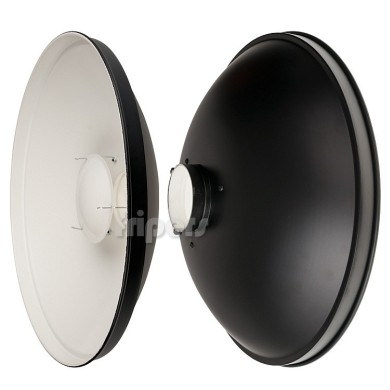 Beauty dish Jinbei 50 cm white bowens, with diffuser