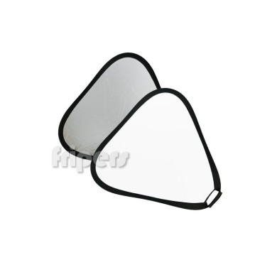 Board reflector FreePower 2w1 30cm silver / white