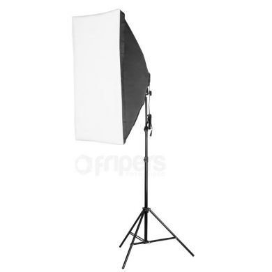 Continuous light kit FreePower with softbox 60x90
