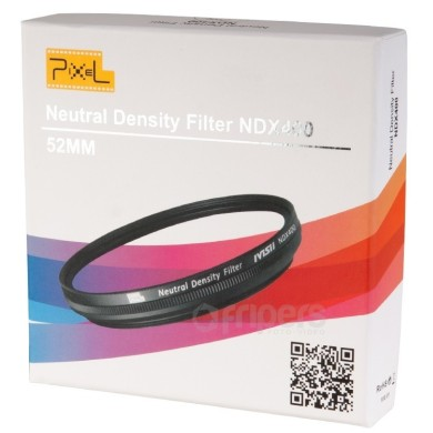 Fader Variable ND Filter Neutral Density ND2 to ND400 52 mm NDX400 Pixel