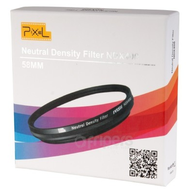 Fader Variable ND Filter Neutral Density ND2 to ND400 58 mm NDX400 Pixel