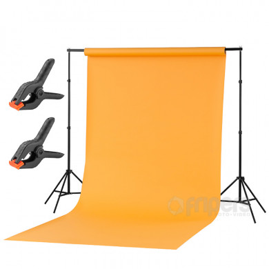 Home Mini Atelier kit + 1,6x5m background clips FreePower