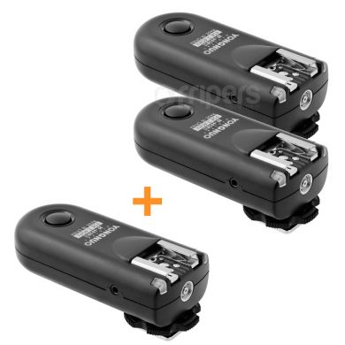 Wireless radio trigger YongNuo RF603 SET for Canon, Nikon