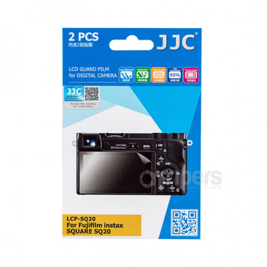 LCD Guard Film JJC LCP-SQ20 Polycarbonate