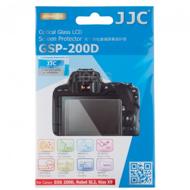 LCD protector JJC GSP-200D glass