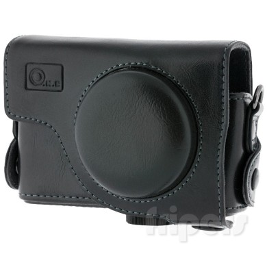 Leather case for Canon S90 FreePower