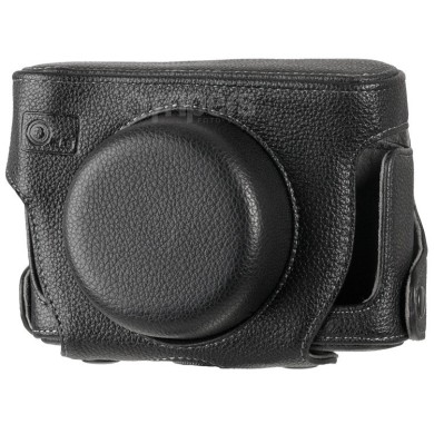 Leather case for Panasonic GF2 FreePower