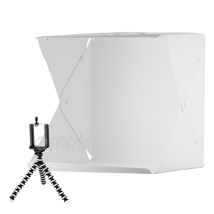 LED Light tent FreePower 40cm USB with 2 backgrounds and tripod