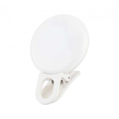 LED ring lamp JJC SRL20WH for smartphones