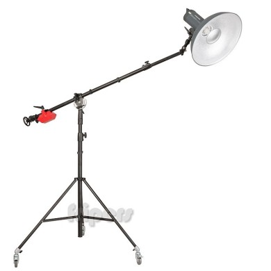 Light stand with boom