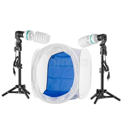 Light tent 50cm with continuous lighting kit 800W FreePower