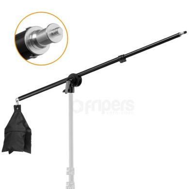 Mini boom FreePower 73-136cm, with reel