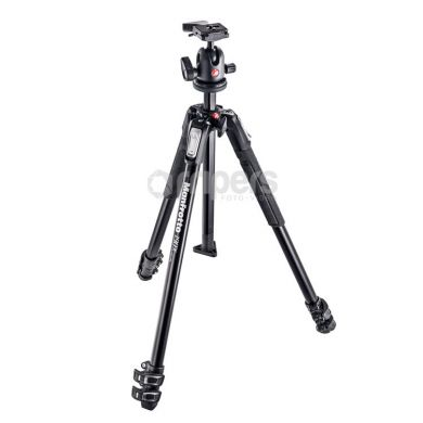 Camera tripod Manfrotto MK190X3-BH aluminium, with ball head