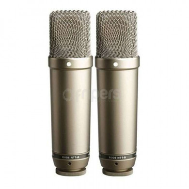Pair of microphones RODE NT1-A complementar pair