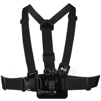 Chest mount strap PowerBee GCHM30 for GoPro, RedLeaf and others