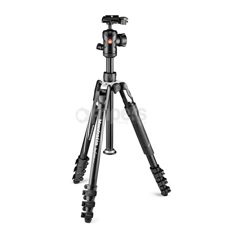 Photo Tripod 2in1 with Monopod Manfrotto Befree Adavnced Lever, black