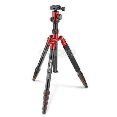 Photo Tripod Manfrotto Element Traveller Big red, with ball head