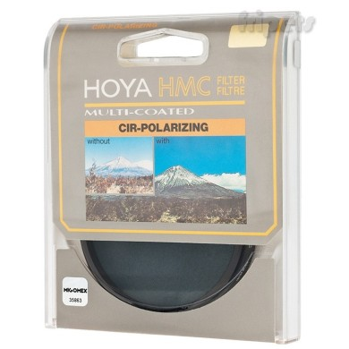 Polarizing Circular Filter HOYA HMC 62mm