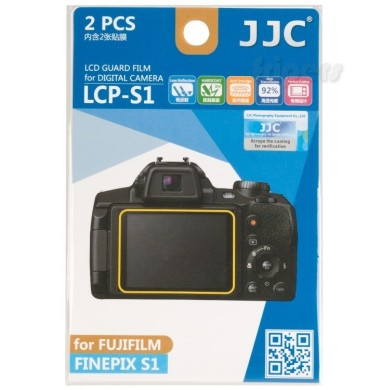 Polycarbonate LCD cover for Fujifilm Finepix S1 JJC