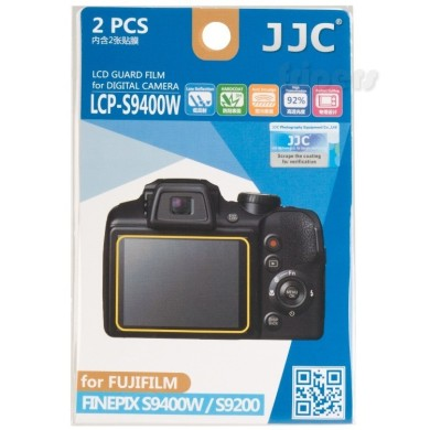 Polycarbonate LCD cover for Fujifilm Finepix S9400W/S9200 JJC
