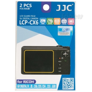 Polycarbonate LCD cover for Ricoh JJC