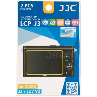 Polycarbonate LCD covers for Nikon J2/J3/V2 JJC