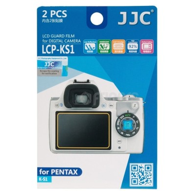 Polycarbonate LCD covers for Pentax K-S1 JJC