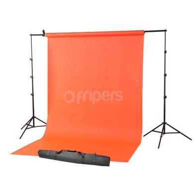 Portable background support kit