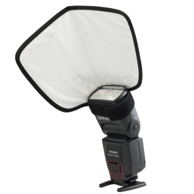 Portaflex QBF camera flash reflecting sheet