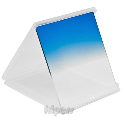 Rectangular filter 84x96 mm Cokin type half BLUE FreePower
