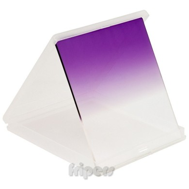 Rectangular filter 84x96 mm Cokin type half VIOLET FreePower