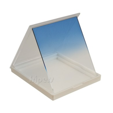 Rectangular filter 84x99 mm Cokin P type half BLUE FreePower