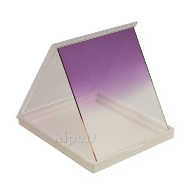 Rectangular filter 84x99 mm Cokin P type half VIOLET FreePower