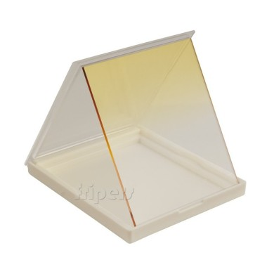 Rectangular filter 84x99 mm Cokin P type half YELLOW FreePower
