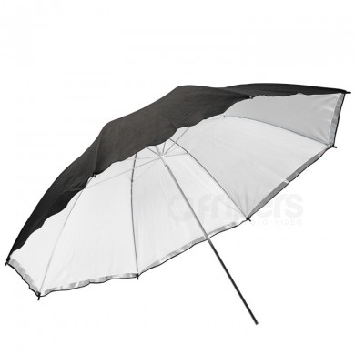 Reflective umbrella FreePower 100cm BASIC Silver with internal diffuser