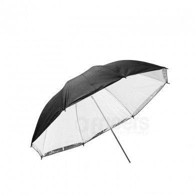 Reflective umbrella FreePower 80cm BASIC Silver with internal diffuser