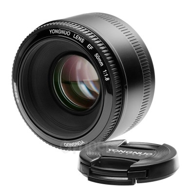 Camera lens Yongnuo 50 mm f/1.8 EF Canon EF mount
