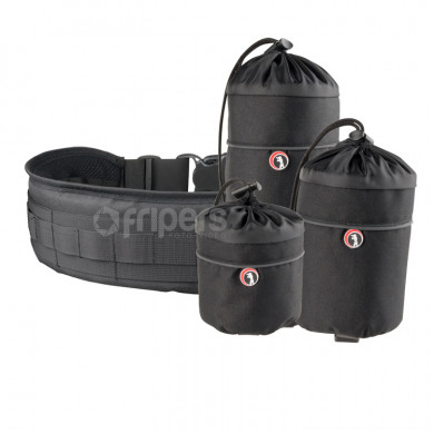 Set with S2 & S4 Lens Pouches Reporter & third to choose and V9 Waist Belt