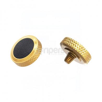 Shutter button JJC SRB Deluxe Soft Gold / Black