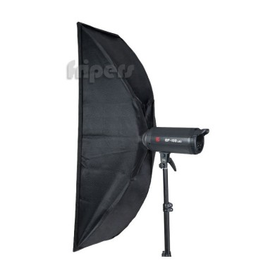Softbox 35x140cm double diffuser connection Bowens FreePower