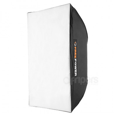 Softbox UNI FreePower 60x90cm 6,5-9,5cm, double diffuser