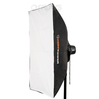 Softbox UNI FreePower 60x90 10,5-16cm, double diffuser