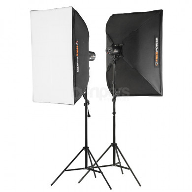 Flash lighting kit FreePower 2 x CY100MR SOFT 60x90