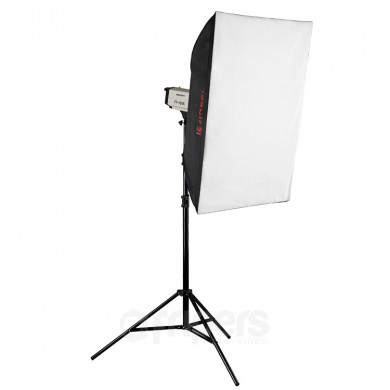 Flash lighting kit FreePower Free CY400K SOFT 70 X 100
