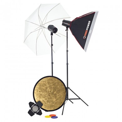 Studio Lighting Kit Jinbei Studio Basic 2 x Delicacy 250 II