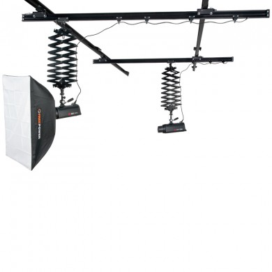 Studio Rail System with 2 pantographs FreePower