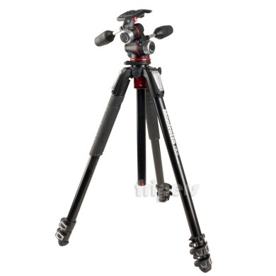 Tripod Manfrotto MT055XPRO3-3W with 3D head